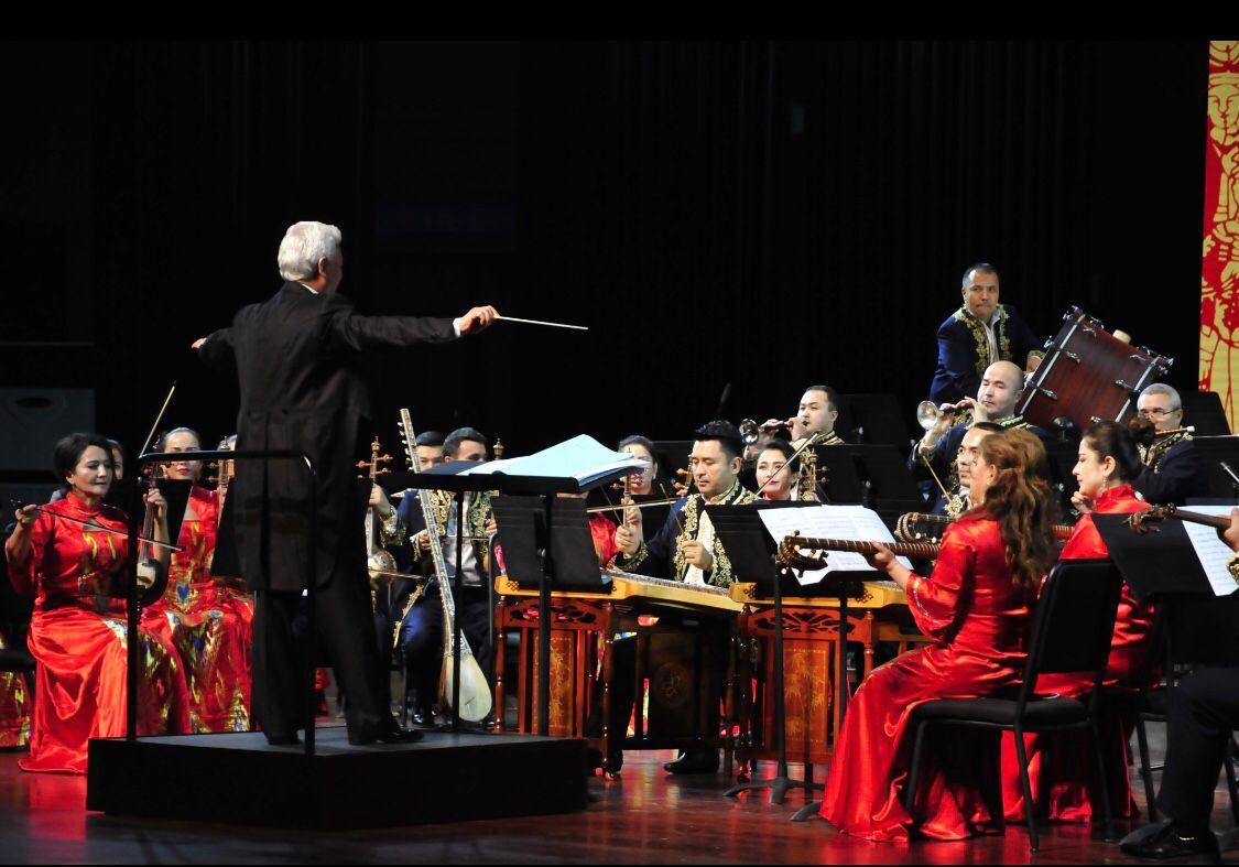 2019年新疆民族乐团《丝绸之路》